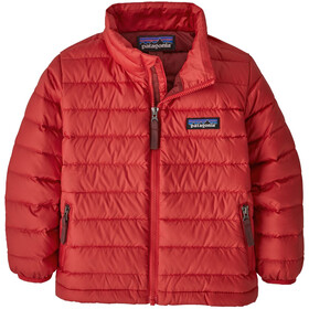 Patagonia Down Sweater Kids Fire/Oxide Red